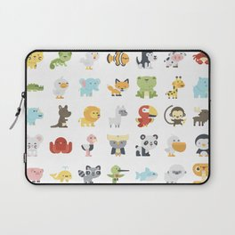 CUTE BABY ANIMAL PATTERN Laptop Sleeve