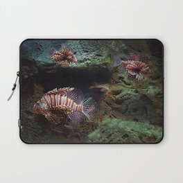 Everything's Fine on the Lion Fishway Laptop Sleeve