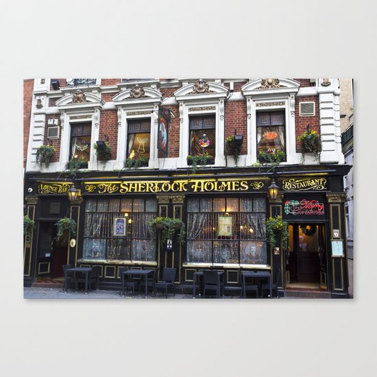 The Sherlock Holmes Pub London Canvas Print