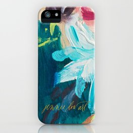 Floral 7 iPhone Case