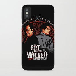No Rest for the Wicked iPhone Case