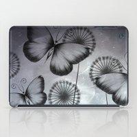 butterflies iPad Cases featuring Butterflies by LouJah