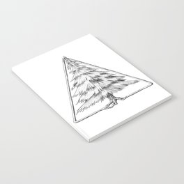 Tree in Triangle Notebook