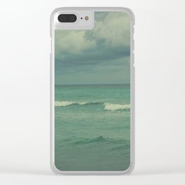 Ocean Brew Clear iPhone Case