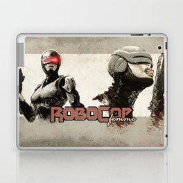 Robocop Girl - Desafío52 Laptop & iPad Skin