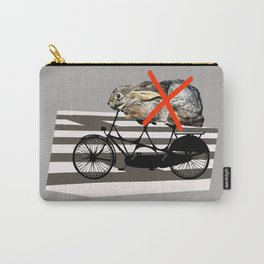 NO RABBITS ON TANDEM BICYCLE Carry-All Pouch