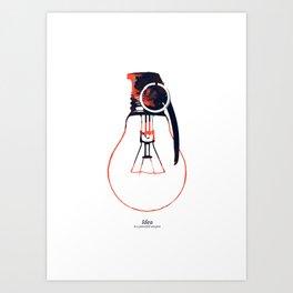 Idea Bomb (2) Art Print