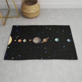 Planetary Solar System Rug