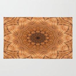 Wood Kaleidoscope b Rug