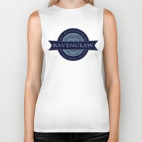 ravenclaw Biker Tanks featuring Ravenclaw by justgeorgia