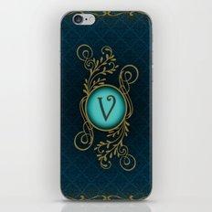 Monogram V iPhone & iPod Skin