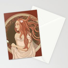 The Green Eyed Girl Stationery Cards