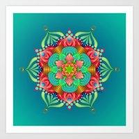 Mandala - Magic Art Print