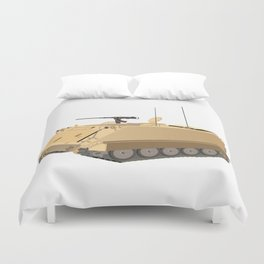 M113 Military APC Duvet Cover