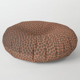 Football / Basketball Leather Texture Skin Floor Pillow