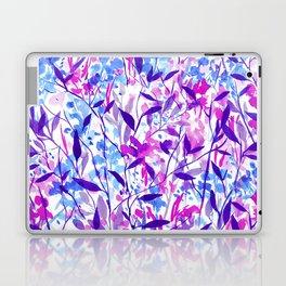 Wandering Wildflowers Violet Laptop & iPad Skin