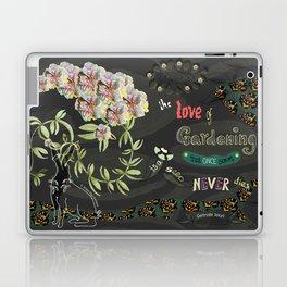 The love of gardening Laptop & iPad Skin