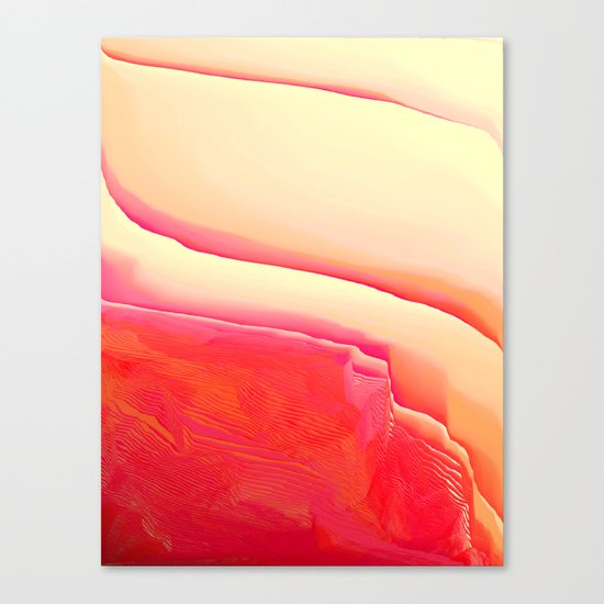 Strawberry Vanilla Canvas Print