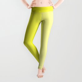 Yellow to Pastel Yellow Vertical Linear Gradient Leggings