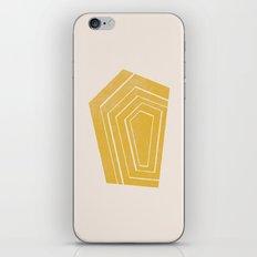 Geode II - in Citrine iPhone & iPod Skin
