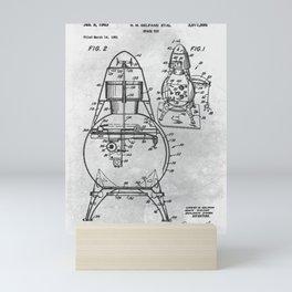 Space toy Mini Art Print