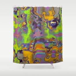 Blurred Shower Curtain