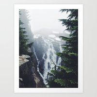 Water on the Mountain Art Print