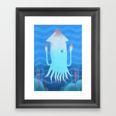 Giant Squid Framed Art Print