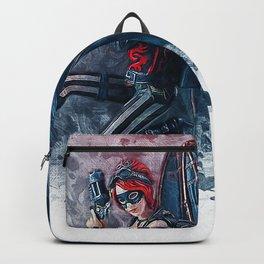 Steampunk Fairy Angel Backpack