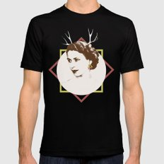 Elizabeth II : The Bold Black SMALL Mens Fitted Tee