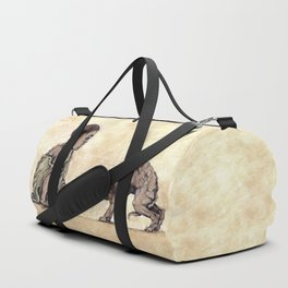 Boy and Puppy Duffle Bag
