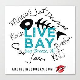 Live Bay Sea Breeze, AL Canvas Print