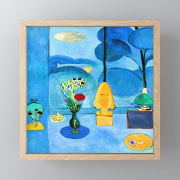 Henri Matisse Blue Window Framed Mini Art Print