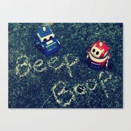 Beep Boop Canvas Print