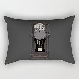 Grandfather Clock Rectangular Pillow