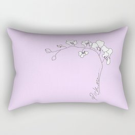 COL OR CHID Rectangular Pillow