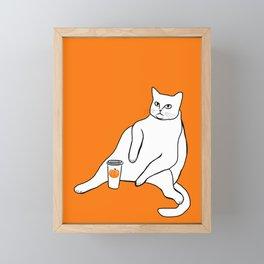 Too Much Pumpkin Spice Framed Mini Art Print
