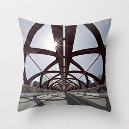 Calgary Peace Bridge; great Architecture Throw Pillow