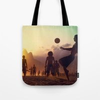 brasil Tote Bags featuring Brasil by afzucatti