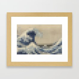 The Great Wave off Kanagawa, 1830-32 (Katsushika Hokusai) Framed Art Print