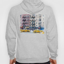 New York, wtercolor sketch Hoody