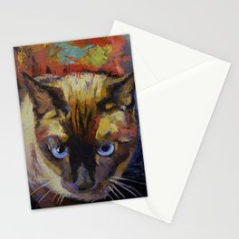 Seal Point Siamese Stationery Cards
