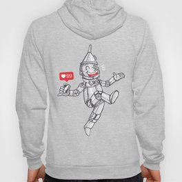 WE CAN'T LIVE WITHOUT SOCIAL MEDIA Hoody