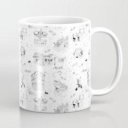 New Orleans Toile Coffee Mug