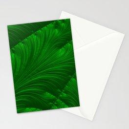 Renaissance Green Stationery Cards