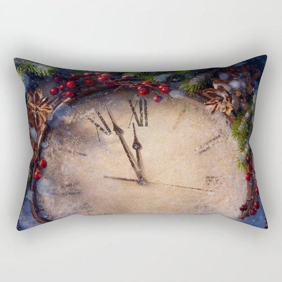 Frozen time winter wonderland Rectangular Pillow