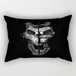 Skull Robot Rectangular Pillow