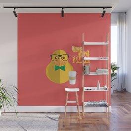 duck nerd power Wall Mural