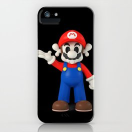 Skull Mario iPhone Case