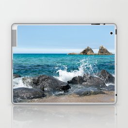 wedded rocks at Futamigaura beach Japan Laptop & iPad Skin